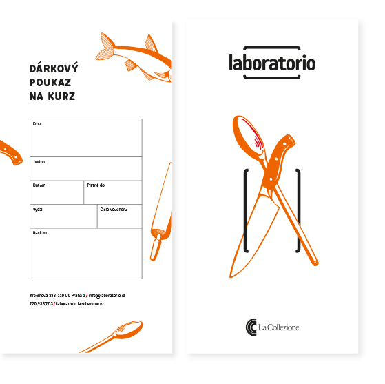 Gift voucher Laboratorio